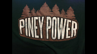 Piney Podcast: The Pineys Backdrop and a Convention Story