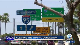 Clearing traffic congestion - Video