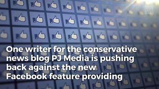 Facebook Hires French Fact Checkers, Incorrectly Fact Checks Conservative News Article