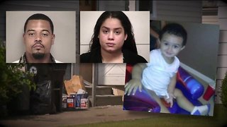 Couple charged in 4-year-old's murder don't show up in court