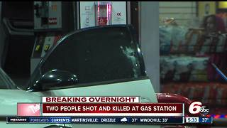 2 killed in shooting at Indianapolis gas station - Video