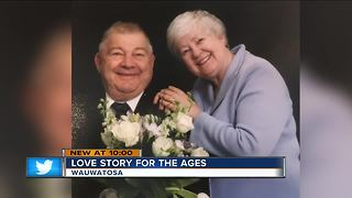 High School sweethearts marry 50 years after graduation