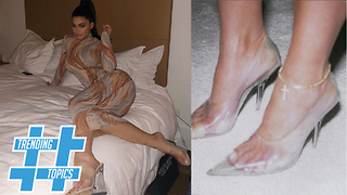 Yeezy CLEAR Heels HOTTEST Trend Of This Summer | TT