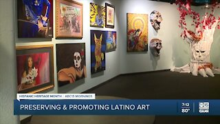 Downtown Phoenix Latino art center working to reopen after damage, COVID-19