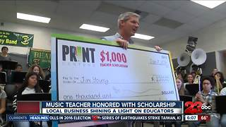 Oildale music teacher honored - Video
