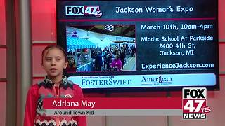 Around Town Kids 3/9/18:  Jackson Women's Expo - Video
