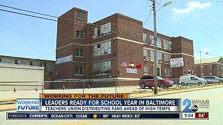 Leaders ready for school year in Baltimore