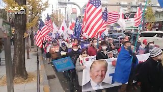 Japanese Rally for Donald Trump!!!