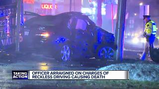 Dearborn Heights officer arraigned on charges of reckless driving causing death