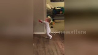 Adorable Baby Turns Into Zombie On Demand From Parents - Video