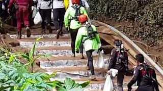 Rescuers Prepare to Extract Trapped Thai Soccer Team