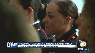2018 Veterans Forum: Helping Veterans understand and treat PTSD