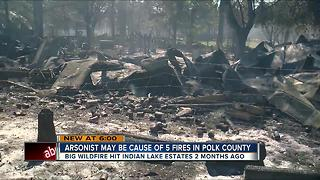 Fire officials in Polk County believe someone may be intentionally setting recent fires - Video