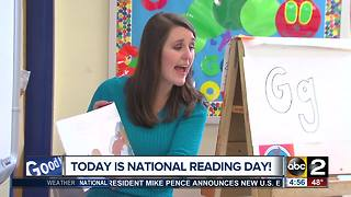 Shannel Pearman and Cassie Carlisle celebrate National Reading Day - Video