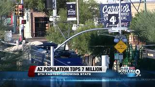 Population of Arizona tops 7 million - Video