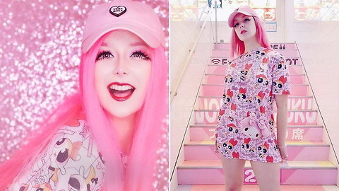The Kawaii Girl Who Only Wears Pink | HOOKED ON THE LOOK