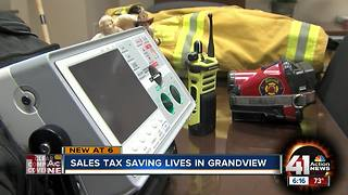 Grandview to buy new gear for police, fire departments with renewed sales tax - Video