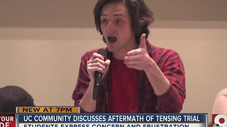 University of Cincinnati community discusses aftermath of Tensing trial - Video