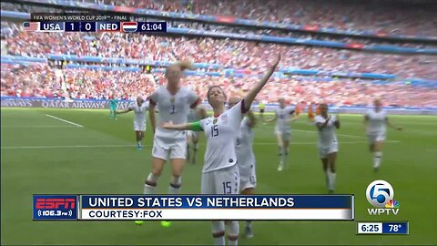 USA wins Women's World Cup final