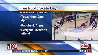 Bakersfield Condors hosting free skate day Saturday - Video