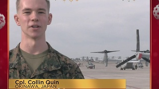 Military Greetings: Cpl. Collin Quinn - Video