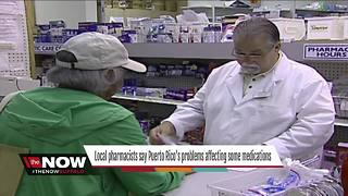 Local pharmacists say Puerto Rico's problems affecting some medications - Video
