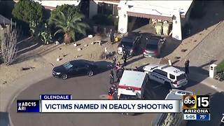 Victims named in Glendale murder-suicde - Video