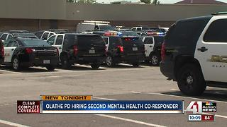 Olathe adds 2nd mental health crisis responder - Video