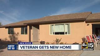 Community helps build new home for Valley veteran - Video