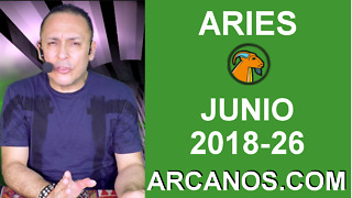 HOROSCOPO ARIES-Semana 2018-26-Del 24 al 30 de junio de 2018-ARCANOS.COM - Video