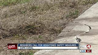 Neighbors Call for Heightened Safety Measures - Video