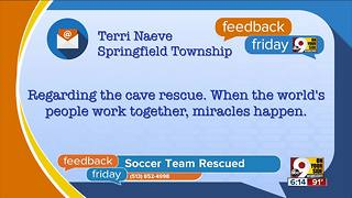 Feedback Friday: Miracles happen (once in a while) - Video