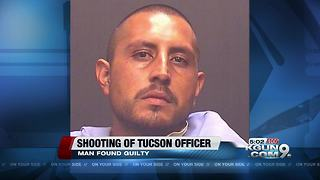 Man found guilty in attempted first-degree murder of officer