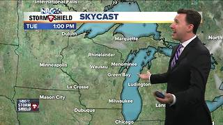 Michael Fish's NBC26 weather forecast