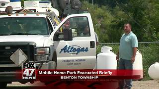 UPDATE: Evacuation order lifted at mobile home park - Video