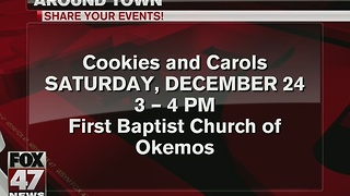 Cookies, carols at church in Okemos on Christmas Eve - Video