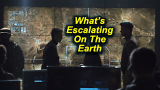 Andy White: What's Escalating On The Earth (video 3 minutes 9 seconds)