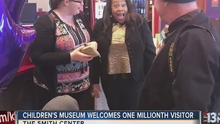 DISCOVERY Children's Museum welcomes 1 millionth visitor - Video