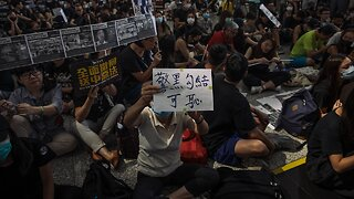 Demonstrators Clash With Police As Hong Kong Protests Continue