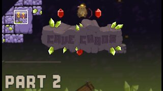 Cave Chaos   Part 2   Levels 10-20   Gameplay   Retro Flash Games