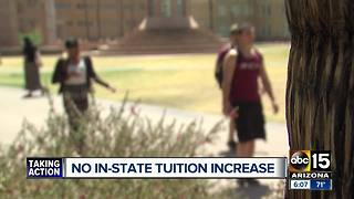 No in-state tuition increase for Arizona schools - Video