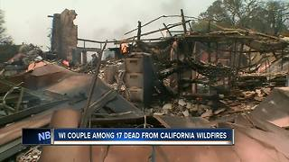 Wisconsin couple killed in California wildfires - Video