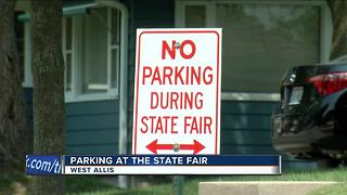 Parking at the State Fair - Video