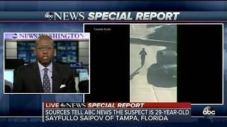 NYC possible terror attack: Suspect from Tampa - Video
