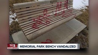 Oak Creek family seeks answers after memorial bench destroyed