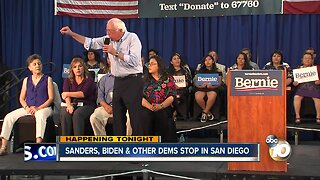 Bernie Sanders holds town hall campaign event in Vista
