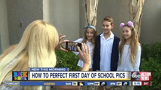 How to take the perfect 'First Day of School' picture