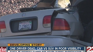 One dead in Shafter crash - Video