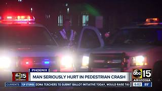 Police searching for hit-and-run driver in north Phoenix - Video