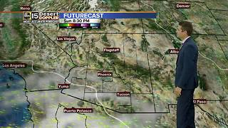 Cloudy skies but warm temps continue - Video